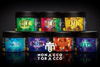 Jetzt neu bei uns im Sortiment: Monacco Tobacco! Mit neuen Geschmäckern wie Tik Tak, Ice Bonbons oder Airways